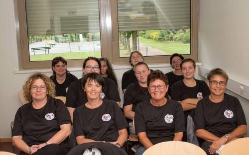 Stage de rentrée de nos arbitres féminines 67/68 - août 2014